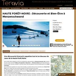 HAUTE FORÊT-NOIRE : Découverte et Bien-Être à Menzenschwand - Allemagne Forêt Noire Raquettes remise en forme randonnée - Teravia