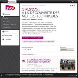 GIRLS'DAY : A la découverte des métiers techniques