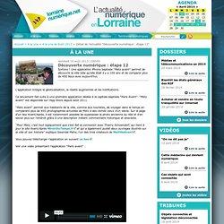 Découverte numérique : Metz Avant