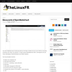 Découverte d'OpenMediaVault - TheLinuxFr