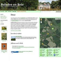 Balade à Doue (Seine-et-Marne) à la découverte de son patrimoine - Balades-en-Brie, à la découverte du patrimoine briard