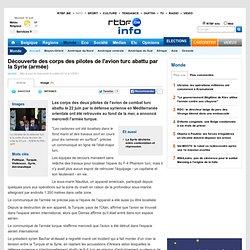 Découverte des corps des pilotes de l'avion turc abattu par la Syrie (armée)