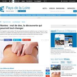 Nantes : mal de dos, la découverte qui pourrait tout changer - France 3 Pays de la Loire
