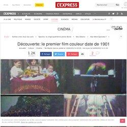 Découverte: le premier film couleur date de 1901