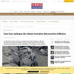 Une tour de crânes humains découverte à Mexico - Sciencesetavenir.fr