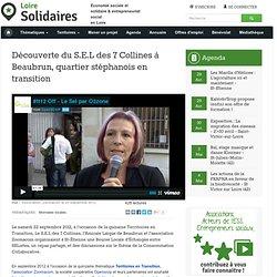 Découverte du S.E.L des 7 Collines à Beaubrun, quartier stéphanois en transition