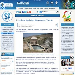 La Porte des Enfers découverte en Turquie