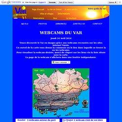 Var découverte: Les Webcams du département du Var