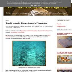 Une cité engloutie découverte dans le Péloponnèse