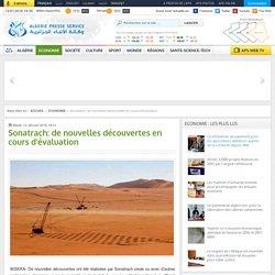 Sonatrach: de nouvelles découvertes en cours d'évaluation