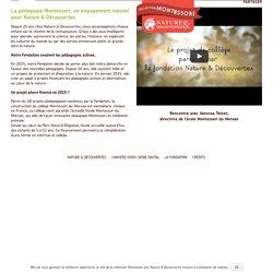 Nature & Découvertes et Montessori