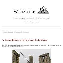 72 dessins découverts sur les pierres de Stonehenge