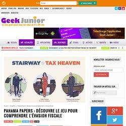 Panama Papers : découvre le jeu pour comprendre l'évasion fiscale
