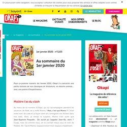 Okapi du 1er janvier 2020 : Molière as du clash !
