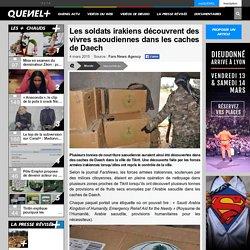 Les soldats irakiens découvrent des vivres saoudiennes dans les caches de Daech