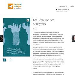 Les Découvreuses Anonymes – L'Humanithèque