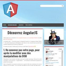 Découvrez AngularJS - Angular-js.fr