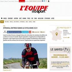 Strava, entrez dans le cyclisme 2.0 ! : découvrez Strava, l'application qui a changé la façon de s'entraîner de milliers de cyclistes à travers le monde.