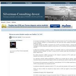Conseil Boursier: Meilleur site de Conseils boursiers et créateur de richesses en temps réel!