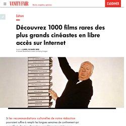 Découvrez 1000 films rares des plus grands cinéastes en libre accès sur Internet