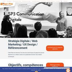 Découvrez notre Bac +3 Communication Digitale - Sup de Pub