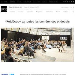 Conférences et débats – MAISON&OBJET PARIS sept 2016