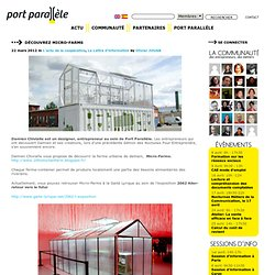 Port Parallele // Coopérative d'activités et d'emploi