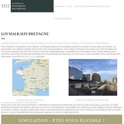 ᐅᐅ Loi Malraux Bretagne ⇒ Découvrez comment défiscaliser en Bretagne