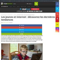 Les jeunes et internet : découvrez les dernières tendances