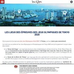 Découvrez les lieux où se dérouleront les épreuves des JO de Tokyo 2020
