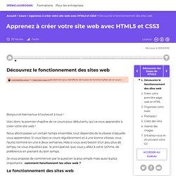 Découvrez le fonctionnement des sites web - Apprenez à créer votre site web avec HTML5 et CSS3