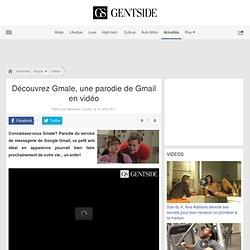 Video Découvrez Gmale, une parodie de Gmail en vidéo