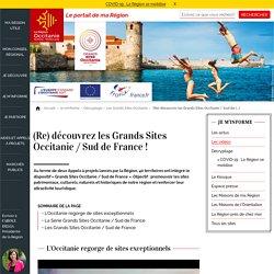 (Re) découvrez les Grands Sites Occitanie / Sud de France !
