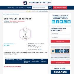Découvrez l'histoire de la startup Les Poulettes Fitness