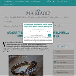 Découvrez 15 incroyables photos de mariés prises à travers le reflet de leurs alliances -Au fil de l'actu -Mariage.com