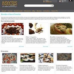 Recettes à base d'insectes - Blog Insectescomestibles.fr - Insectescomestibles.fr