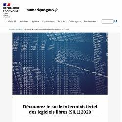 Découvrez le socle interministériel des logiciels libres (SILL) 2020