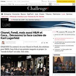 Chanel, Fendi, mais aussi H&M et Coca... Découvrez la face cachée de Karl Lagerfeld - 15 mars 2013