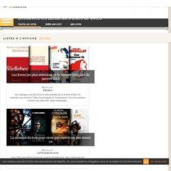 Découvrez des listes de livres sur Babelio