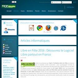 Libre en Fête 2016 : Découvrez le Logiciel Libre partout en France