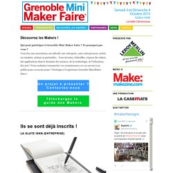 Grenoble Mini Maker Faire