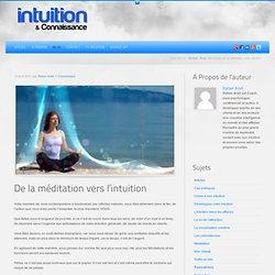 Découvrez par la méditation votre intuition !