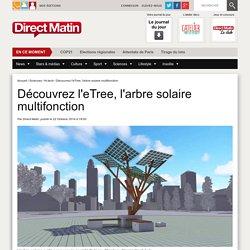 Découvrez l'eTree, l'arbre solaire multifonction