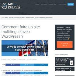 Découvrez les plugins Multilingues pour WordPress