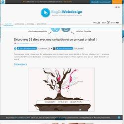 Découvrez 55 sites avec une navigation et un concept original ! - webdesign