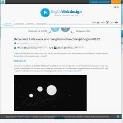 Découvrez 5 sites avec une navigation et un concept original #122