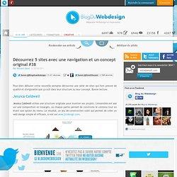 Découvrez 5 sites avec une navigation et un concept original #38 - Webdesign-inspiration