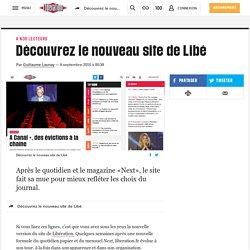Découvrez le nouveau site de Libé