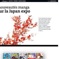 Japan Expo : découvrez 15 nouveaux mangas