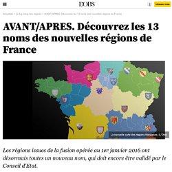 Régions: Avant/Après